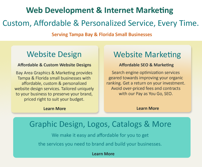 web design Tampa, website development, e-commerce web design Tampa