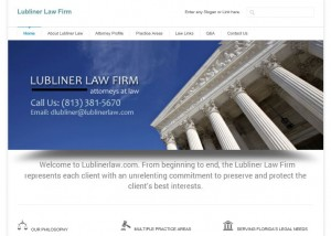 law firm website design tampa florida